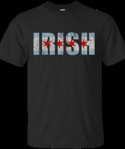 Irish Chicago Flag Cotton T-Shirt