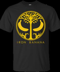 Iron Banana Cotton T-Shirt