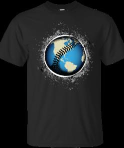 Its A Baseball World Cotton T-Shirt