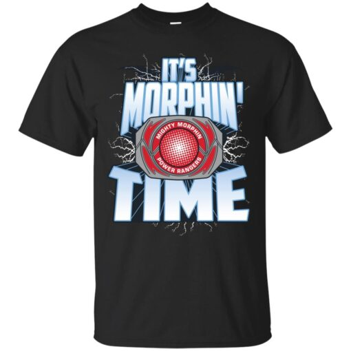 Its Morphin Time RED Cotton T-Shirt
