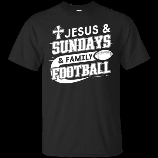 JESUS SUNDAYS FAMILY FOOTBALL Cotton T-Shirt