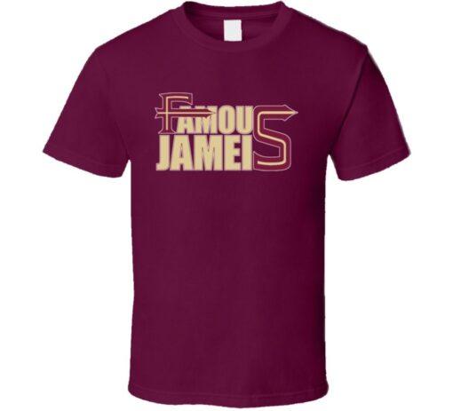 Jameis Winston Fsu Football Quarterback T Shirt
