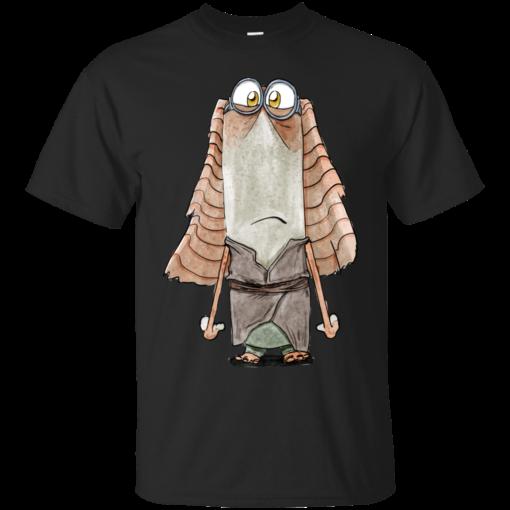 Jar Jar Binksion minion Cotton T-Shirt