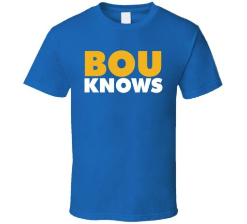 Jay Bouwmeester Know St Louis Bou Hockey T Shirt