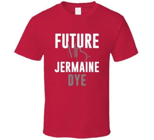 Jermaine Dye Future Mrs. 1996 Atlanta Baseball T Shirt