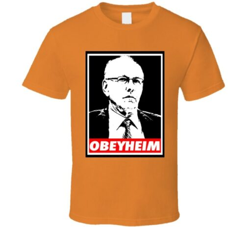 Jim Boeheim Obeyheim Syracus Ncaa Basketball (Nick) T Shirt