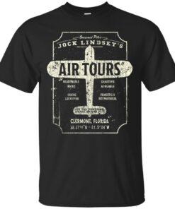 Jocks Air Tours Clermont Florida Cotton T-Shirt