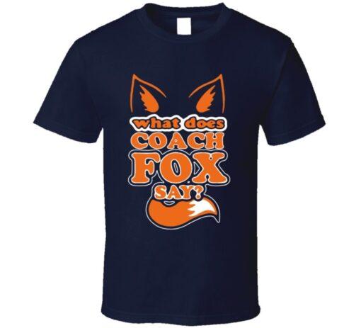 John Fox Denver Coach Football T Shirt