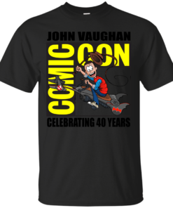 John Vaughan Comic Con Cotton T-Shirt