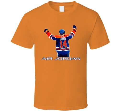 Jordan Eberle Edmonton Hockey T T Shirt