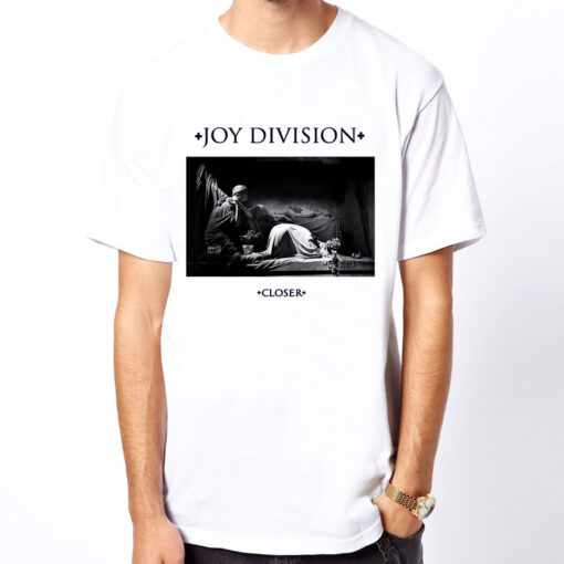Joy Division-Closer Ian Curtis Unknown Indie Rock Band Men'S T Shirt