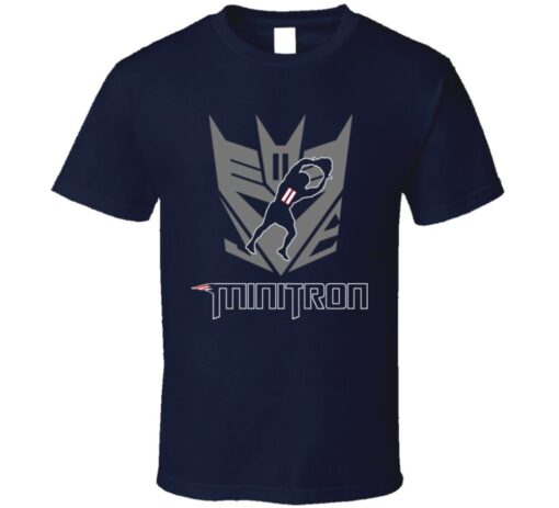 Julian Edelman New England Football Minitron T Shirt