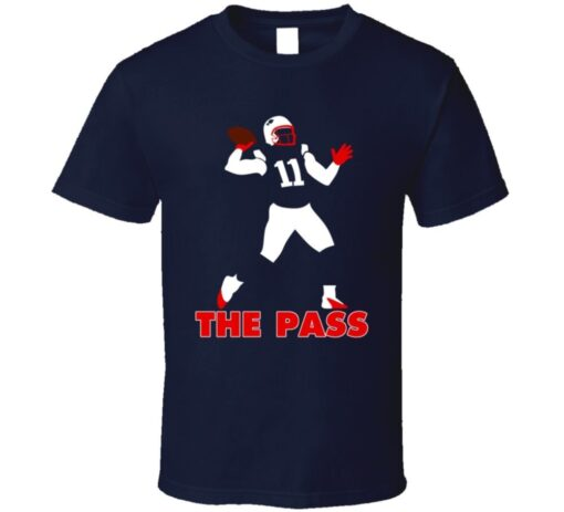 Julian Edelman New England'S Pass Touchdown Danny Football Jersey T Shirt
