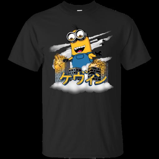Kaiju Kevin minions Cotton T-Shirt