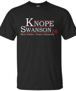 Knope Swanson 2016 Cotton T-Shirt