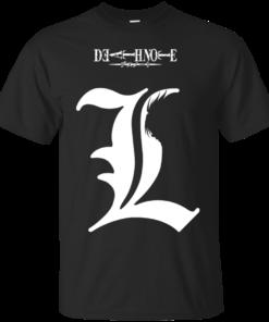 L Death Note Cotton T-Shirt