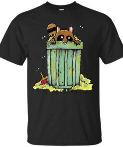 LIFE IS GARBAGE Cotton T-Shirt