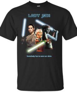 Lady Jedi Cotton T-Shirt