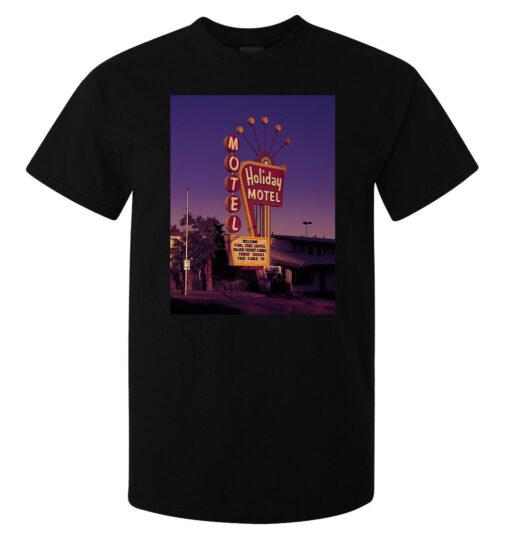 Las Vegas Holiday Motel Designed Hipster (Available For Women) Men Black T Shirt