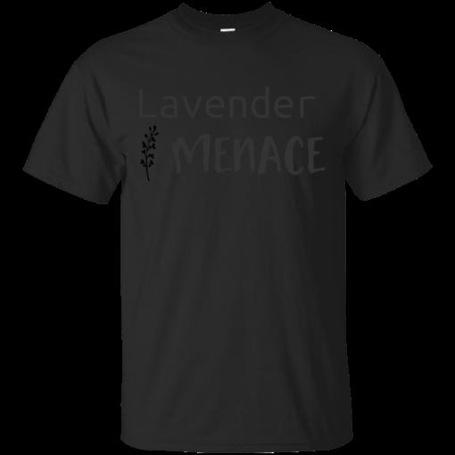 Lavender Menace Cotton T-Shirt