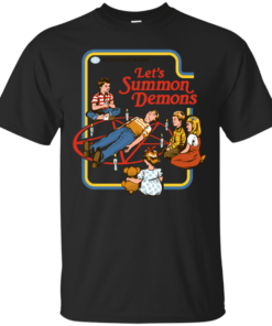 Lets Summon Demons Cotton T-Shirt
