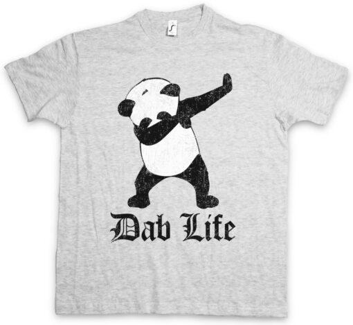 Life Ii T-Dab Panda Bear Dance Club Dj Mc Hard Game Thug Parranda T Shirt