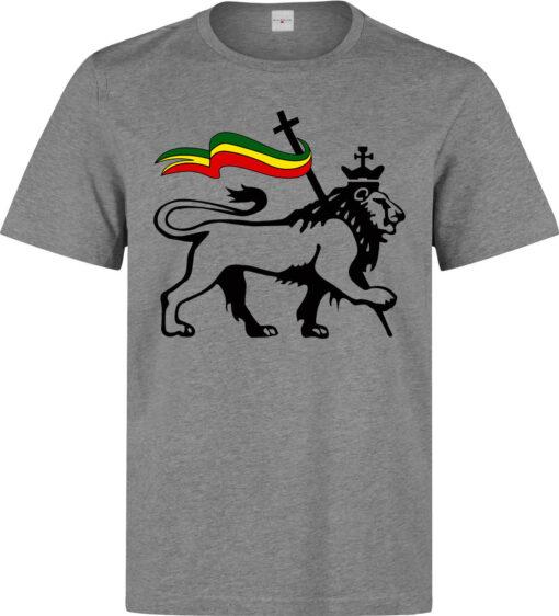 Lion Of Judah Carry (Available For Women) Cover Gray Men Rastafarian Flag T Shirt