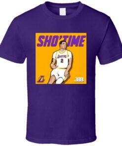 Lonzo Ball Showtime Los Angeles Basketball Fan Gif T Shirt