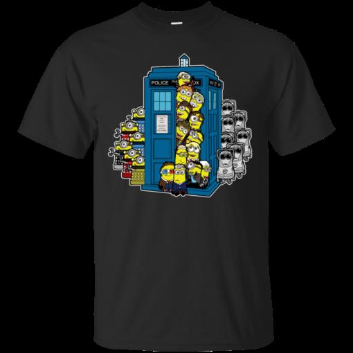 Look Out Doc Minion mash ups Cotton T-Shirt