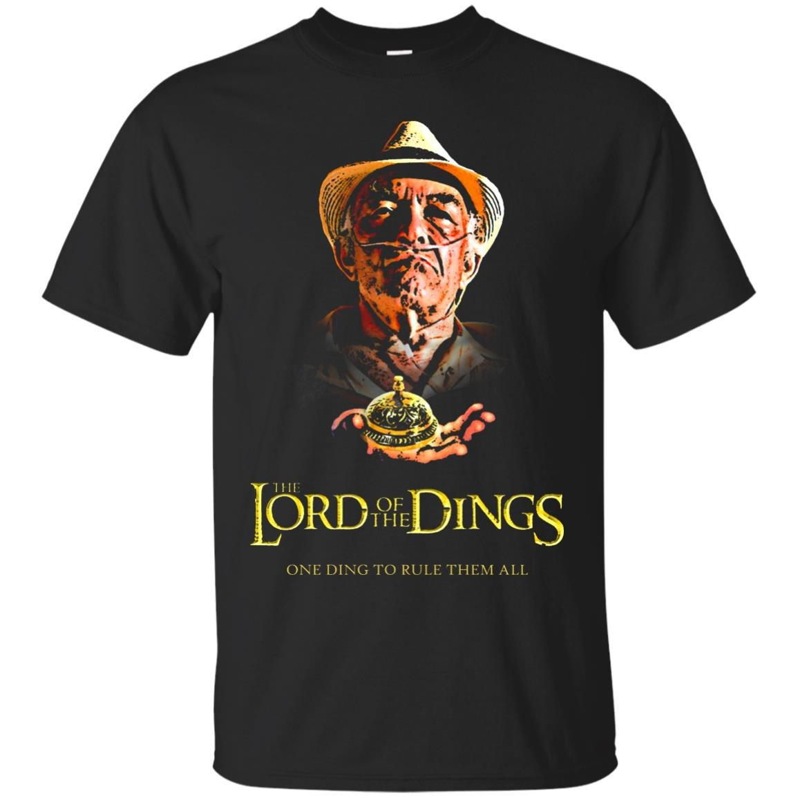 Lord Of The Dings Cotton T-Shirt
