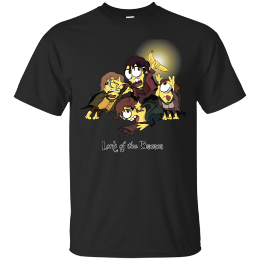 Lord of the Banana the fellowship of the ring Cotton T-Shirt