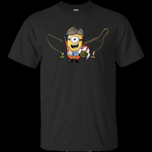 Luke Minion nerdy Cotton T-Shirt