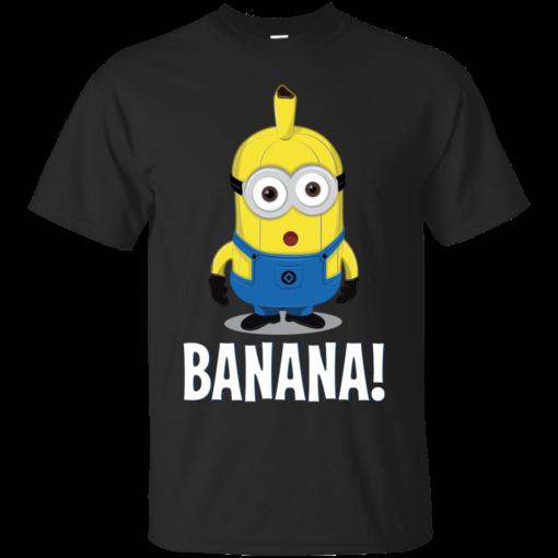 MINION BANANA banana Cotton T-Shirt