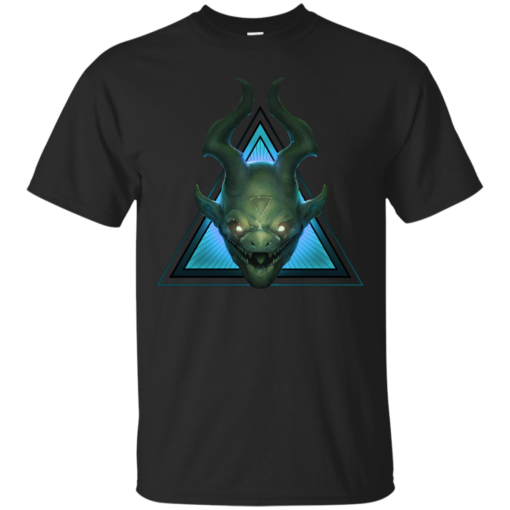 MINION BLUE demon Cotton T-Shirt