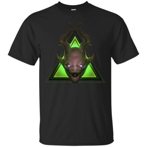 MINION EMERALD demon Cotton T-Shirt