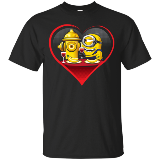 MINION IN LOVE banana Cotton T-Shirt
