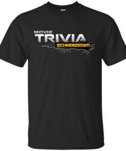 MOVIE TRIVIA SCHMOEDOWN SEASON 3 DESIGN Cotton T-Shirt