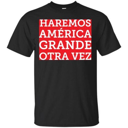 Make America Great Again en espaol Cotton T-Shirt