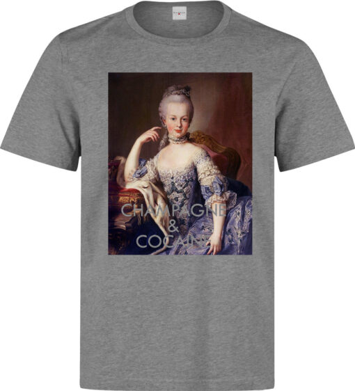 Marie Antoinette Of Champagne And Cocaine Classic Men (Women Available) Gray T Shirt
