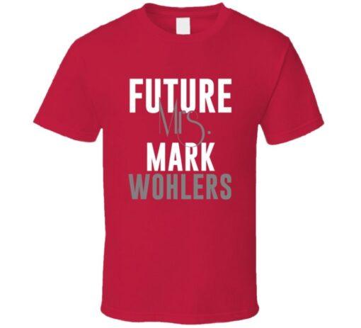 Mark Wohlers Future Mrs. 1999 Atlanta Baseball T Shirt