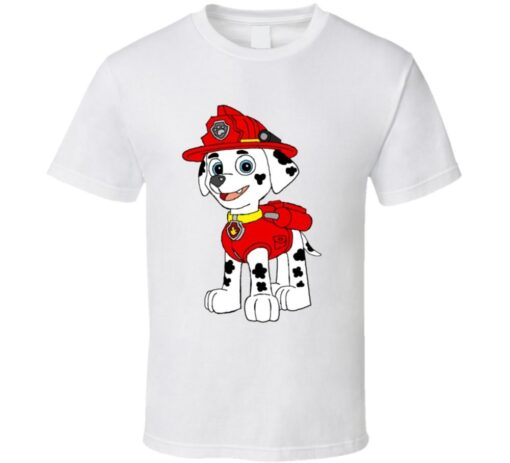 Marshall Leg Tv Patrol Red Dog Cartoon T T Shirt