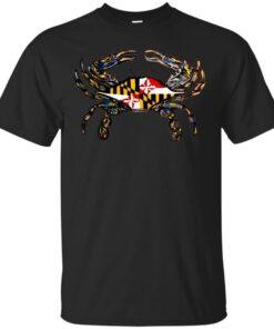 Maryland Crab Cotton T-Shirt