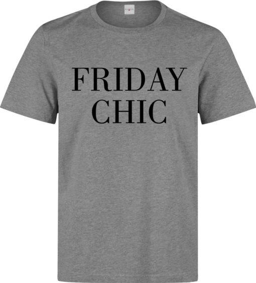 Men Lema Class Classy Elegant Fun Friday (Women Available) Gray T Shirt