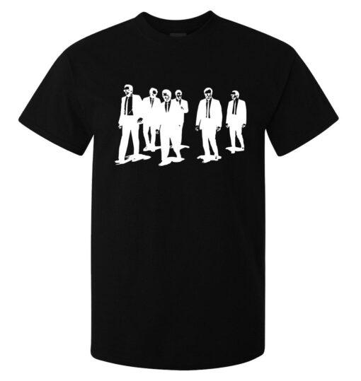 Men Reservoir Dogs Black Minimalist Art (Available Women) Black T Shirt