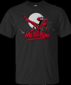 Merc Fury deadpool kung fury Cotton T-Shirt