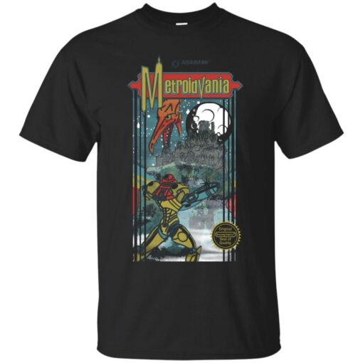 Metroidvania Cotton T-Shirt