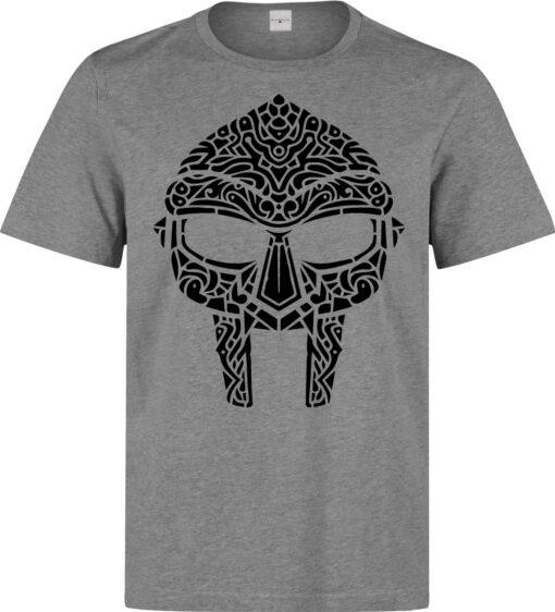 Mf Doom Madlib Madvillain Graphic Mask Men (Women Available) Gray T Shirt