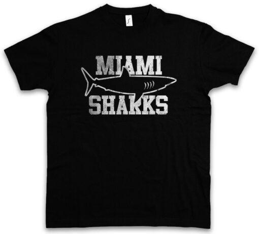 Miami Shark At Any Given Football Team Logo Symbol Shark Sunday Session T Shirt
