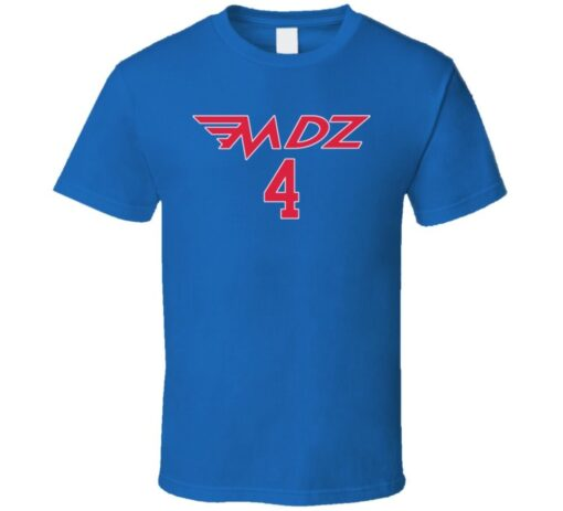 Michael Del Zotto Philadelphia Hockey Player T T Shirt