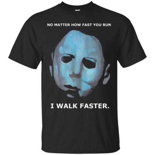 Michael Myers Walks Cotton T-Shirt